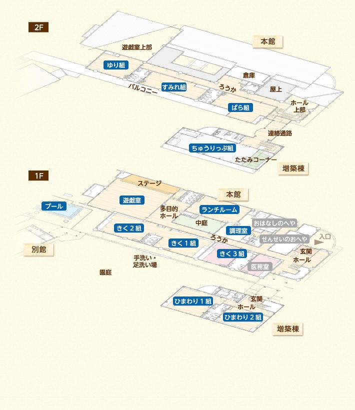 園舎マップ